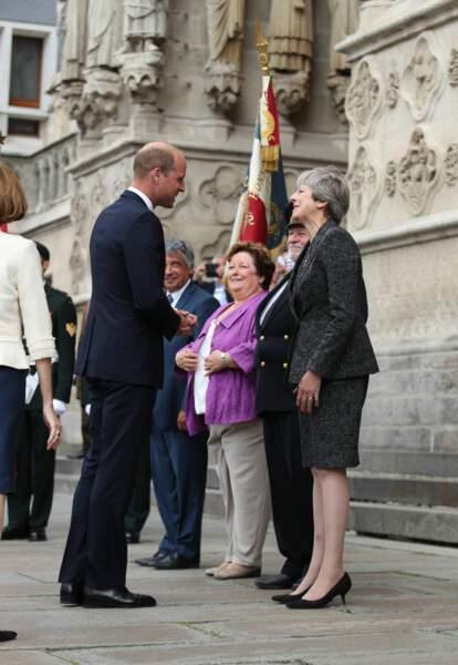 Le Prince William célèbre le centenaire de la bataille d'Amiens
