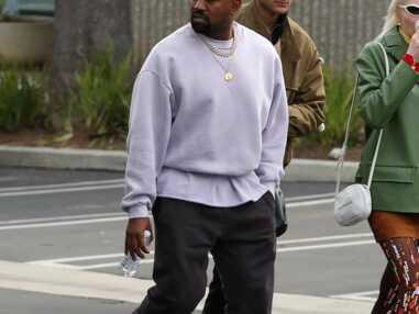 VOICI Kanye West a encore pété les plombs : découvrez sa nouvelle coloration hallucinante