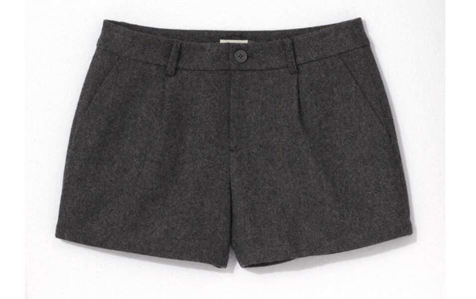 Short en tweed, Somewhere, 75€
