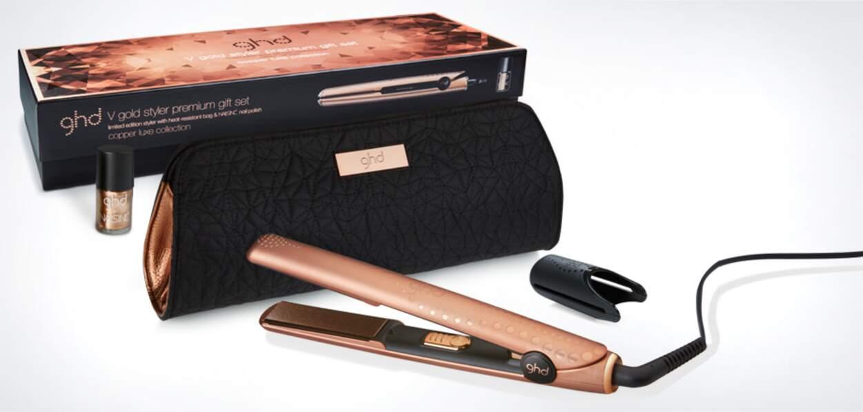 Coffret styler GHD Premium Copper Luxe, 210€
