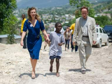 Valérie Trierweiler en voyage humanitaire à Haïti