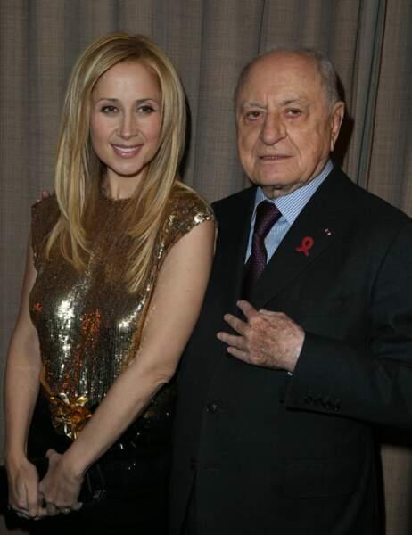 Lara Fabian et Pierre Bergé