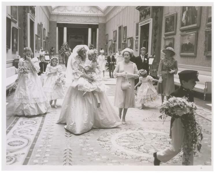 Lady Di et la reine Elizabeth