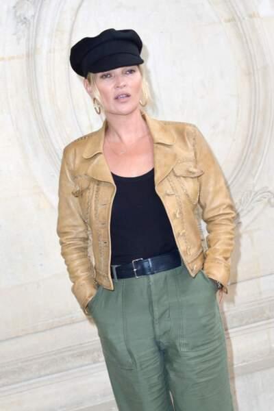Kate Moss au défilé Christian Dior