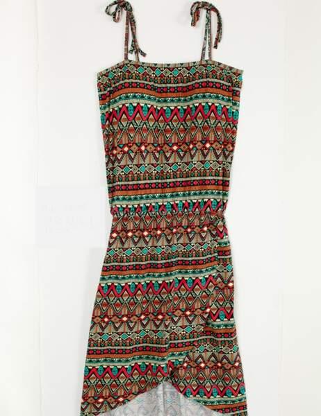 Robe imprimé ethnique, 12,99€