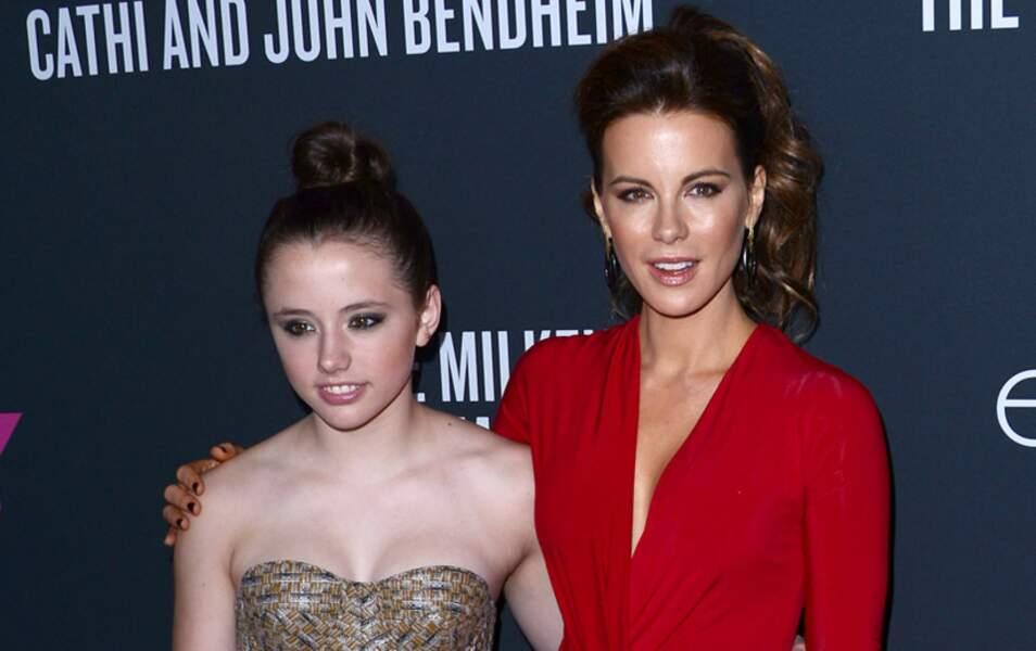 Kate Beckinsale et sa fille Lily Mo