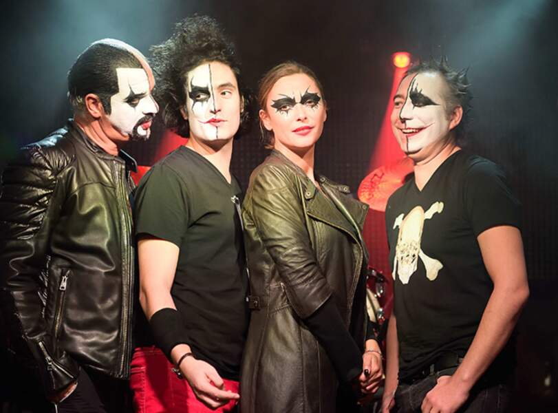 Sandrine Quétier et son groupe, The Jokers