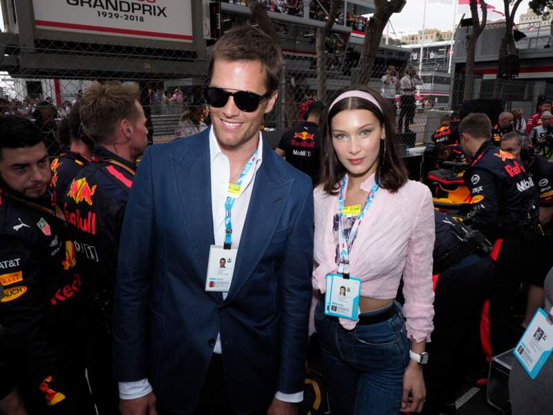 Tom Brady, sans Gisele Bundchen, mais avec Bella Hadid