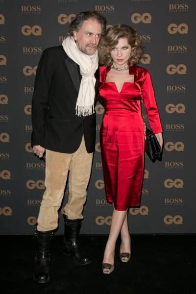 L'écrivain Simon Liberati et son épouse, la comédienne Eva Ionesco