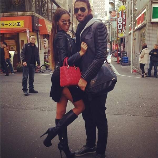 Nabilla y fait du shopping avec Thomas