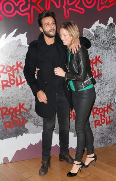 Avant-première de Rock'n Roll : Maxim Nucci et Isabelle Ithurburu