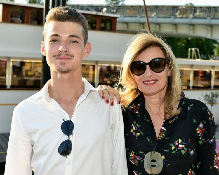 Valérie et Léonard Trierweiler