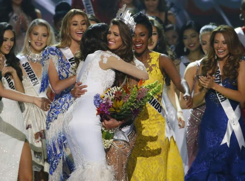 Iris Mittenaere élue Miss Univers : une couronne, beaucoup de bonheur et autant de pleurs
