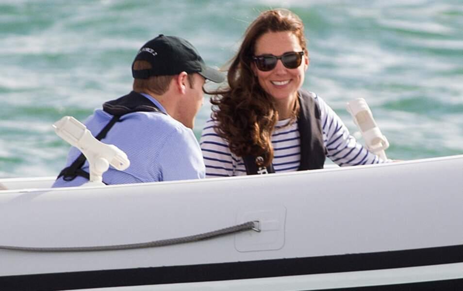 Le prince William et Kate Middleton vont s'affronter dans une course de voiliers