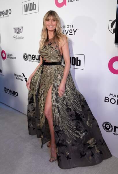 Do Heidi Klum chic et glamour