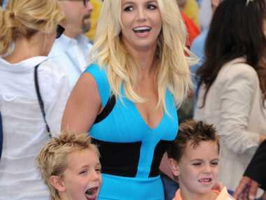 DIAPO Britney Spears et ses fils à l'avant-première des Schtroumpfs 2