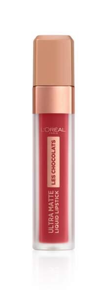 Ultra Matte Liquid Lipstick Tasty Ruby, L'Oréal Paris, 10, 50 €.