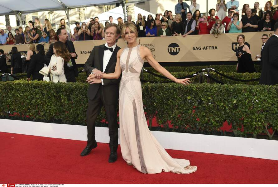 SAG Awards 2017 : William H. Macy et Felicity Huffman