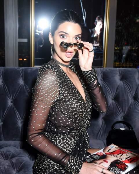 150 anniversaire d'Harper's Bazaar - Kendall Jenner