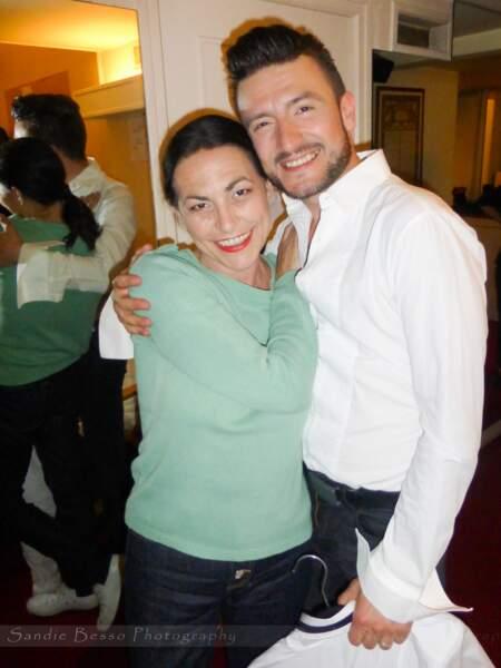Concert de Michal : le chanteur avec Lio