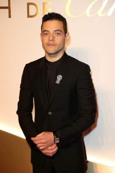 Rami Malek au dîner Cartier, le 10 avril 2019 à la Conciergerie de Paris