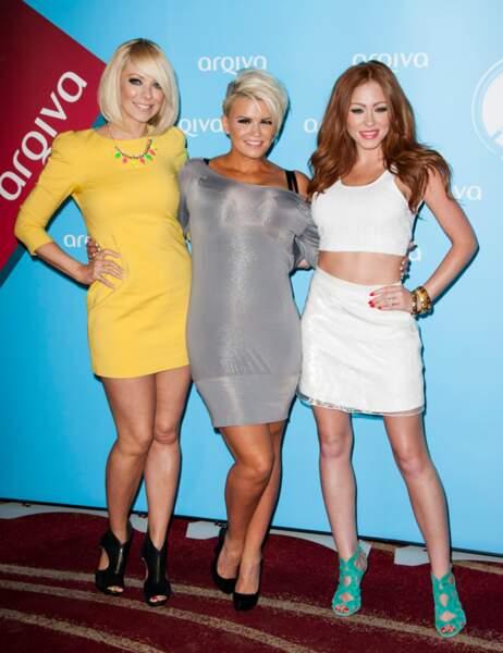 Liz McClarnon, Kerry Katona et Natasha Hamilton en juillet 2013