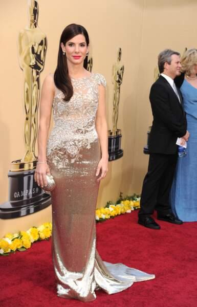 Sandra Bullock s'est fondue dans la masse, une étoile parmi les étoiles, ça passe inaperçu