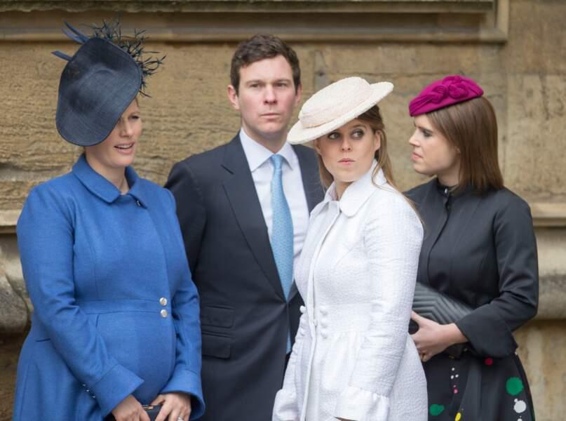 Zara Tindall, Jack Brooksbank, Princesse Eugenie et Princess Beatrice