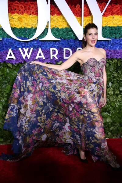 Marisa Tomei à la 73ème cérémonie des Tony Awards