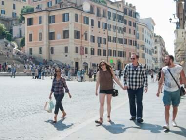 Quentin Tarantino en amoureux à Rome
