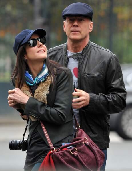 Mary-Louise Parker et Bruce Willis