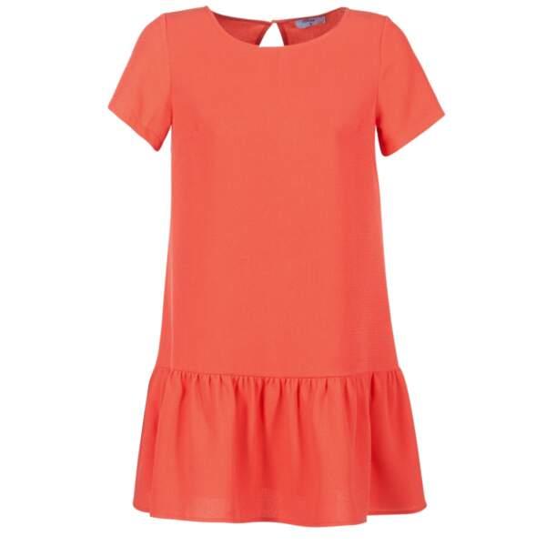 Robe courte orange, Betty London sur spartoo.com, 44,99€