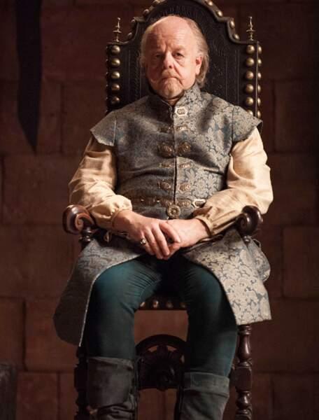 Du coup, il était habillé comme Mace Tyrell