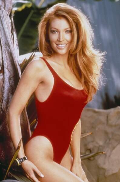 Angelica Bridges à l'époque où elle jouait le lieutenant Taylor Walsh dans Alerte à Malibu