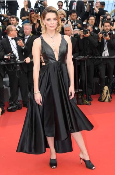 Cannes - Montée des Marches pour le 70ème anniversaire : Mischa Barton