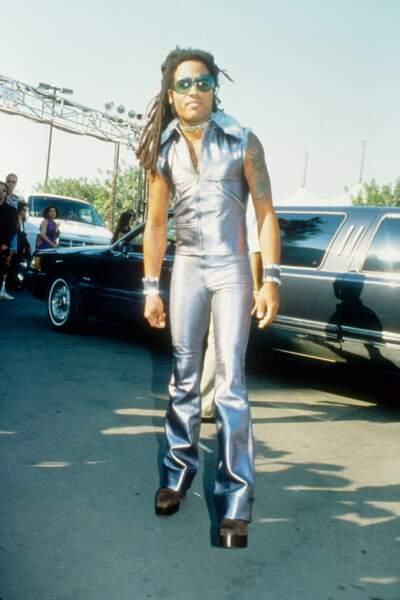 MTV Video Music Awards : Penny euuuh Lenny Kravitz en mode rockeur de l'espace en 1993