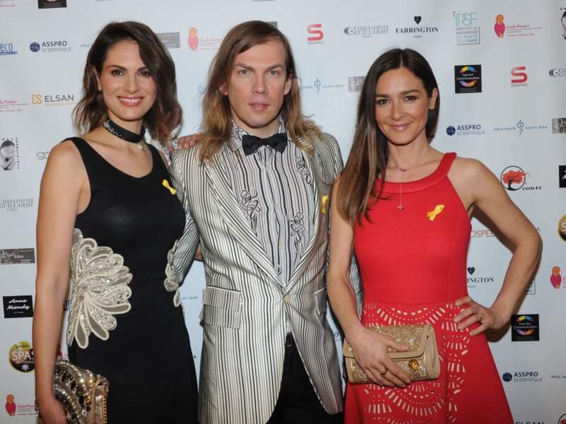 Laetitia Bléger, Christophe Guillarmé et Emmanuelle Boidron