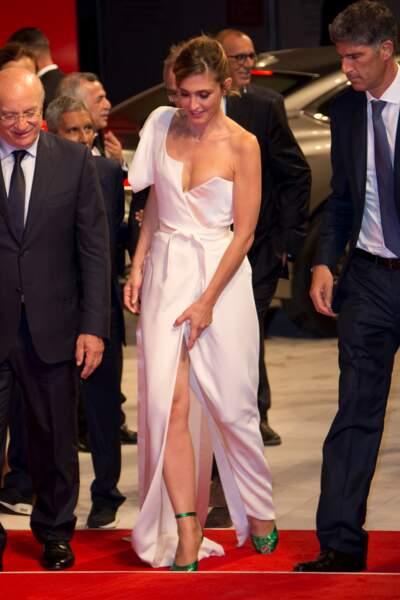Présentation de L'insulte à la Mostra de Venise : Julie Gayet veille désormais