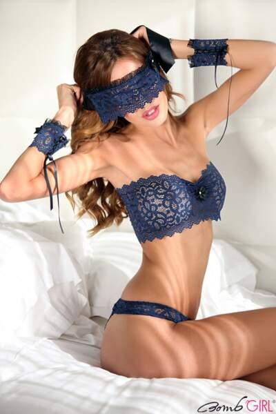Vanessa Lawrens présente la nouvelle collection de lingerie de Bomb Girl