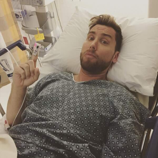 Lance Bass avait appendicite, il a tout raté