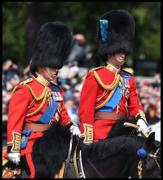 Prince William à Trooping the Colour, Londres