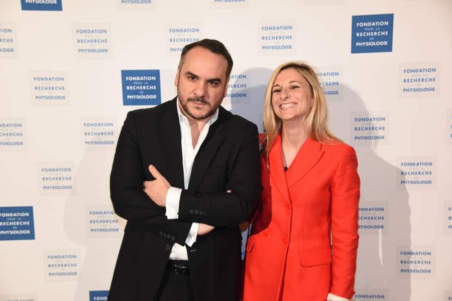 Gala Les Stethos D'Or 2018 : Francois-Xavier Demaison et Anaïs Tihay