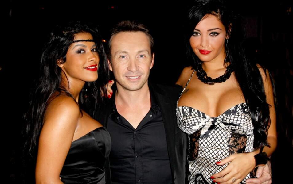 Ayem Nour, Stéphane Joffre-Roméas et Nabilla Benattia
