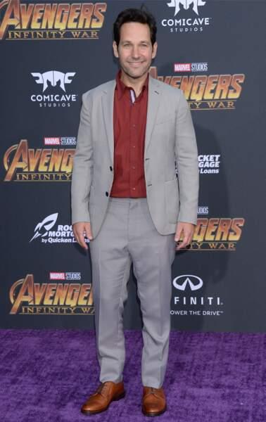 Première mondiale d'Avengers: Infinity War - Paul Rudd
