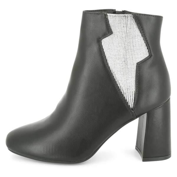 15 pièces modes à shopper chez Kiabi : Boots avec élastique éclair, 11,20 euros au lieu de 28 euros