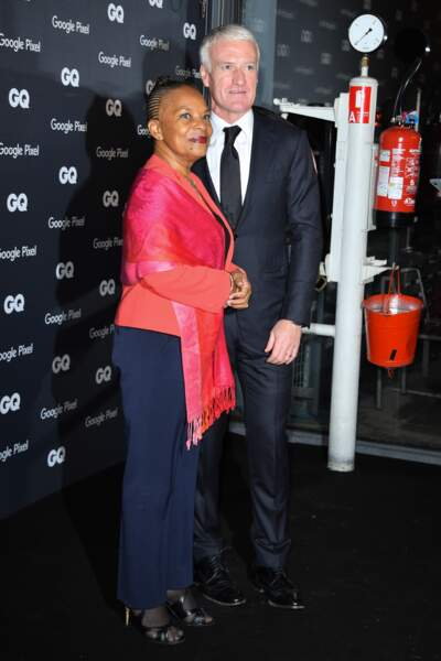GQ Men Of The Year Awards 2018 : Didier Deschamps et Christiane Taubira