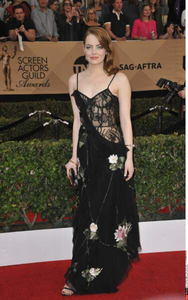 SAG Awards 2017 : Emma Stone
