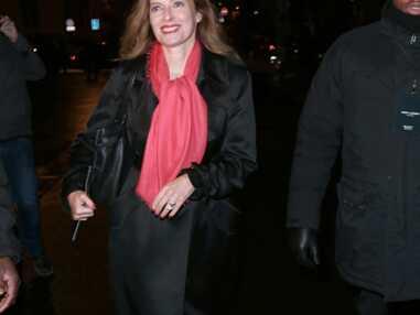 Valérie Trierweiler, Isabelle Huppert... Les stars au défilé Saint Laurent hiver 2014