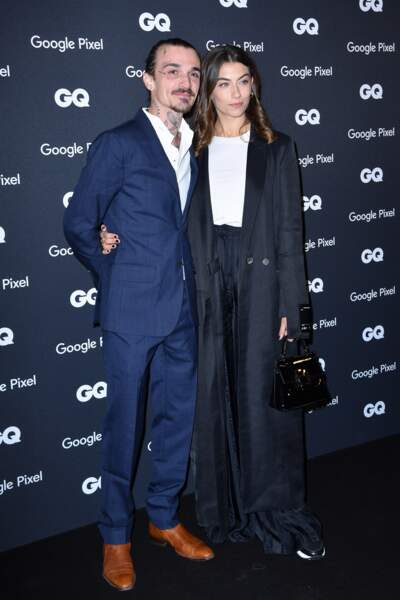 GQ Men Of The Year Awards 2018 : Guillaume Sanchez et Paloma Coquant