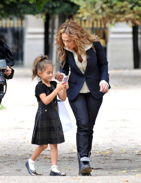 Jennifer Lopez et sa fille